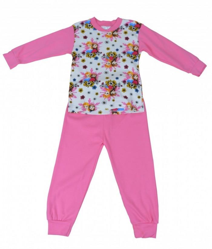 Pijamale fete, model 3, 4-6 ani, 104-116 cm, JuliaKids, 5284