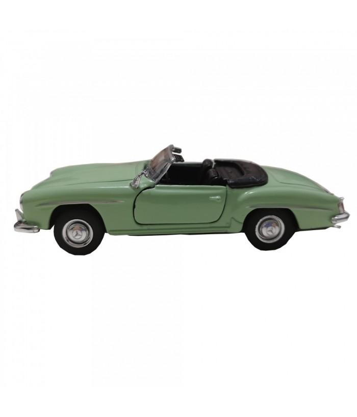 Masinuta Mercedes-Benz 190 SL (1955), vernil, die-cast, 12 cm