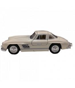 Masinuta Mercedes-Benz 300SL Coupe (1954), GoKi, crem, die-cast, 12.8 cm