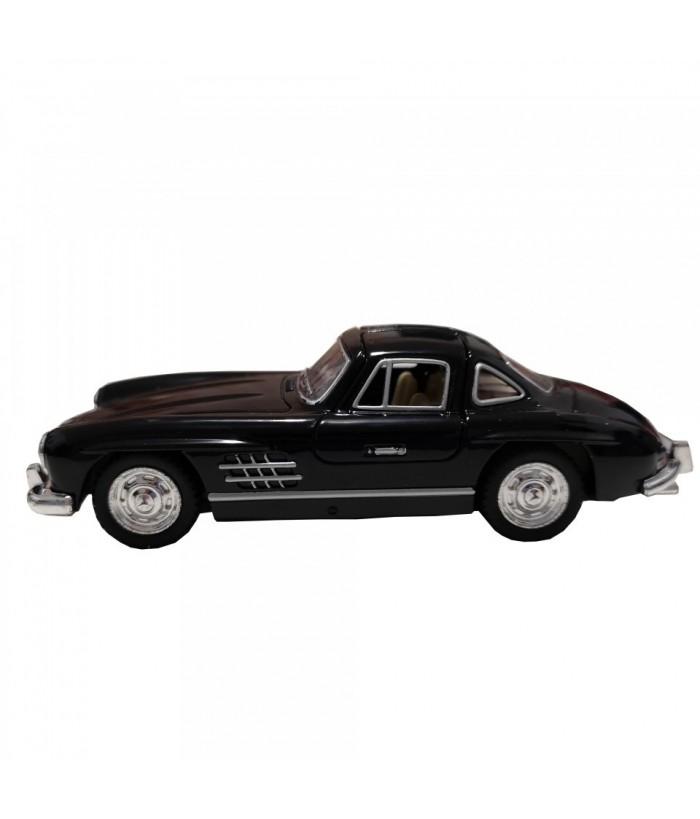 Masinuta Mercedes-Benz 300SL Coupe (1954) GoKi, negru, die-cast, 12.8 cm