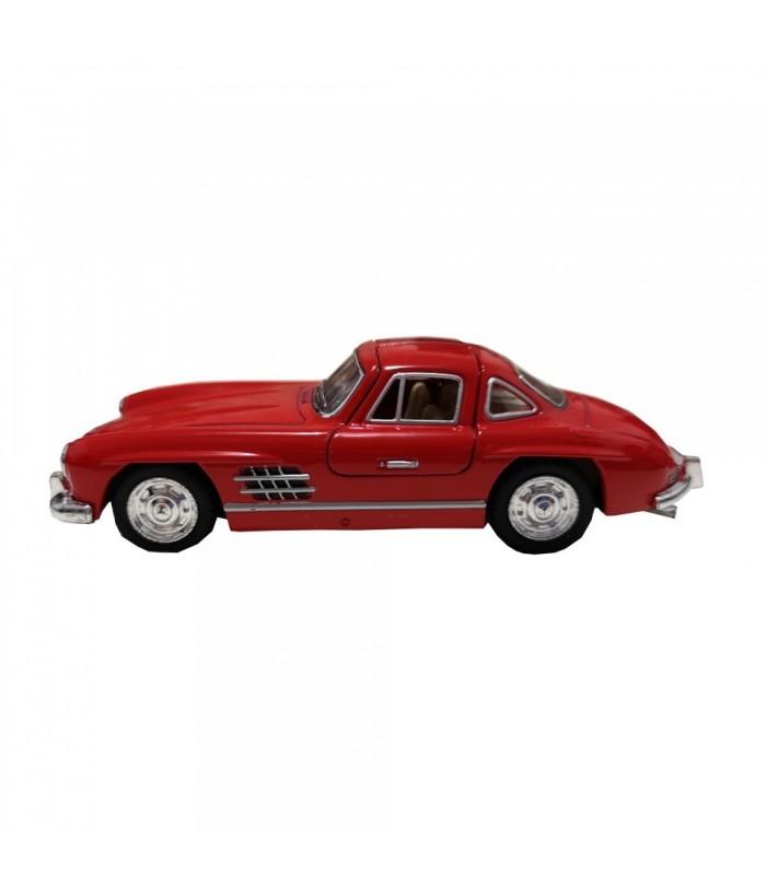 Masinuta Mercedes-Benz 300SL Coupe (1954) GoKi, rosu, die-cast, 12.8 cm