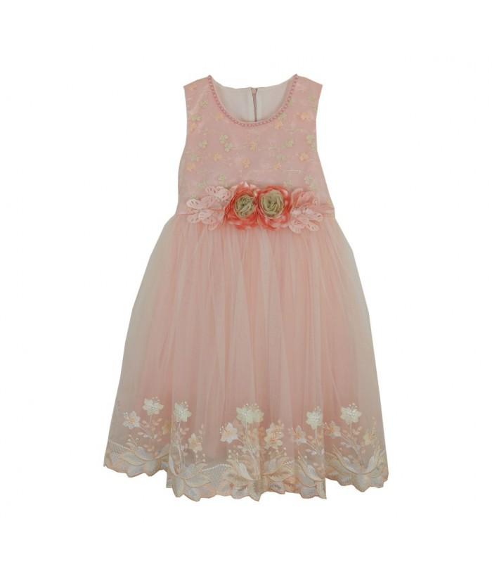 Rochie lunga pentru fetite, Virginia, 6-10 ani, 116-140 cm