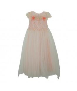 Rochie roz Urania, pentru fetite, tulle, 6-10 ani, 116-140 cm