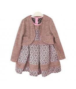 Rochie cu bolero pentru fetite, Vandana, 7 ani, 128 cm