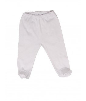 Pants with white boots (thin cotton), 0-6 months, 48-70 cm