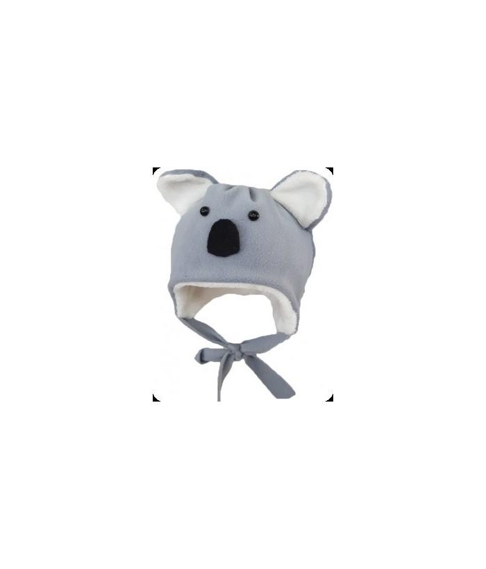 Caciula urs Koala, baiat, polar, 3-12 luni, 62-80 cm, Mic Pitic