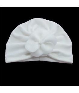 Turban pentru fetite, Charlotte, ivoire, polar, 3-9 luni, 62-74 cm