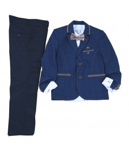 Costum elegant Amir, stofa, 1-10 ani