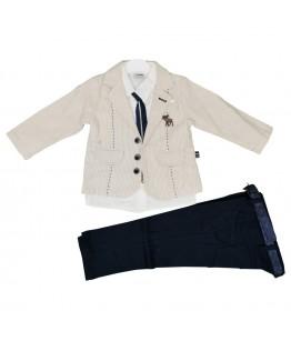Costum pentru baieti, 3-4 ani, 98-104 cm, JuliaKids, 9532