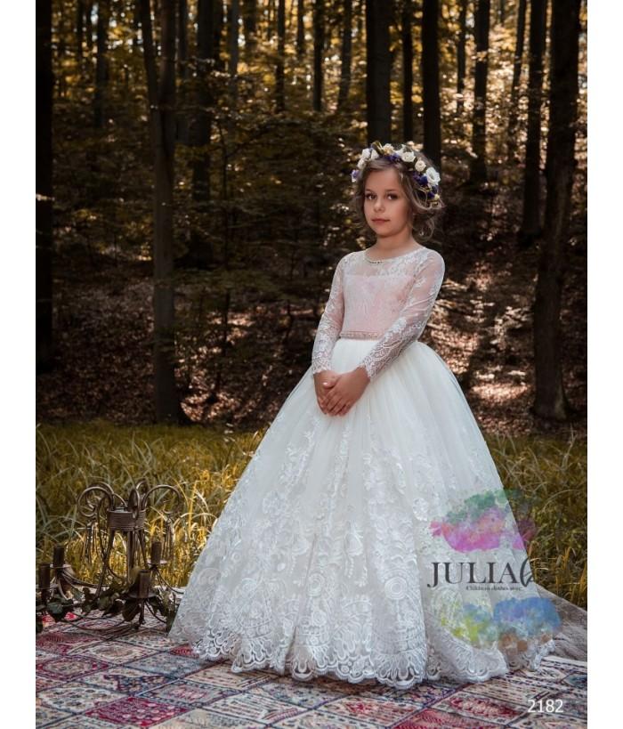 Rochie de ocazie fete, 2-13 ani, 92-158 cm, tulle, JuliaKids, 9725