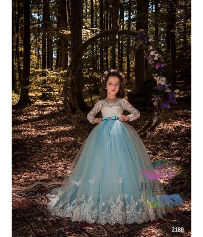 Rochie de ocazie fete, 2-13 ani, 92-158 cm, tulle, JuliaKids, 9727