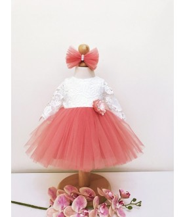 Rochita pentru fetite, Dalia, 0-2 ani, Colibri, 9774