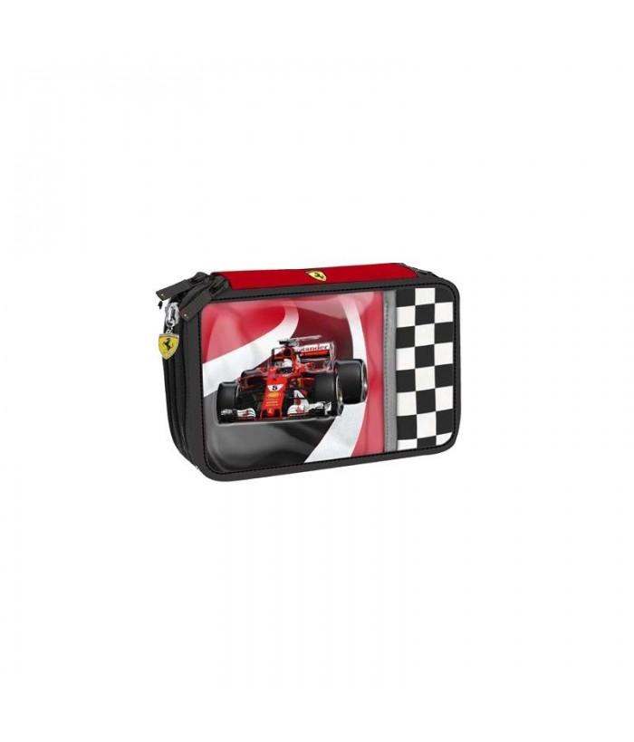 Penar echipat cu 3 fermoare Ferrari