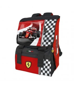 Rucsac extensibil si masinuta Ferrari