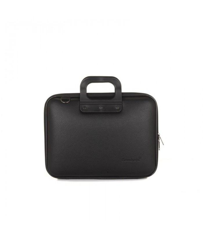 Geanta lux business laptop 13 Allblack-Negru