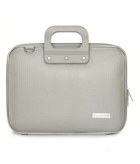 Geanta lux business laptop 13 in Nylon Bombata-Gri
