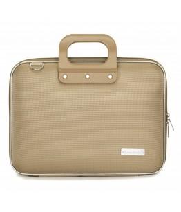 Geanta lux business laptop 13 in Nylon Bombata-Grej
