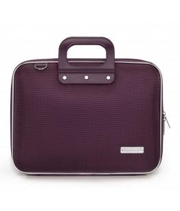 Geanta lux business laptop 13 in Nylon Bombata-Violet