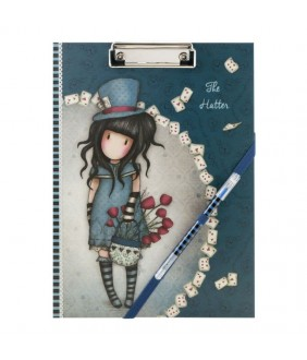 Gorjuss Clipboard cu planificator - The Hatter