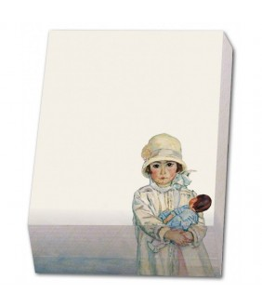 Bloc notite cu 164 file Girl with doll Jan Sluijters Singer