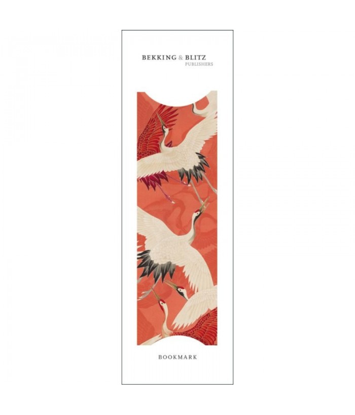 Semn de carte Woman haori with Red and White Cranes Collect