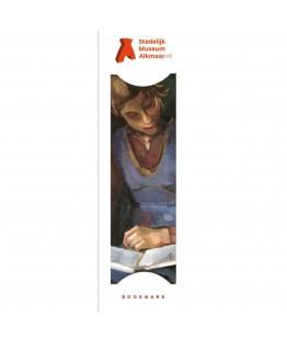 Semn de carte Reading girl-Piet Wiegman
