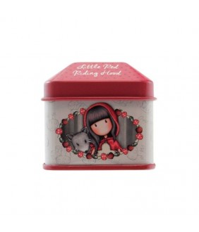 Gorjuss Cutie cu abtibilduri - Little Red Riding Hood