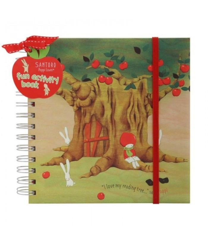 Poppi Love Carte activitati copii Apple Tree