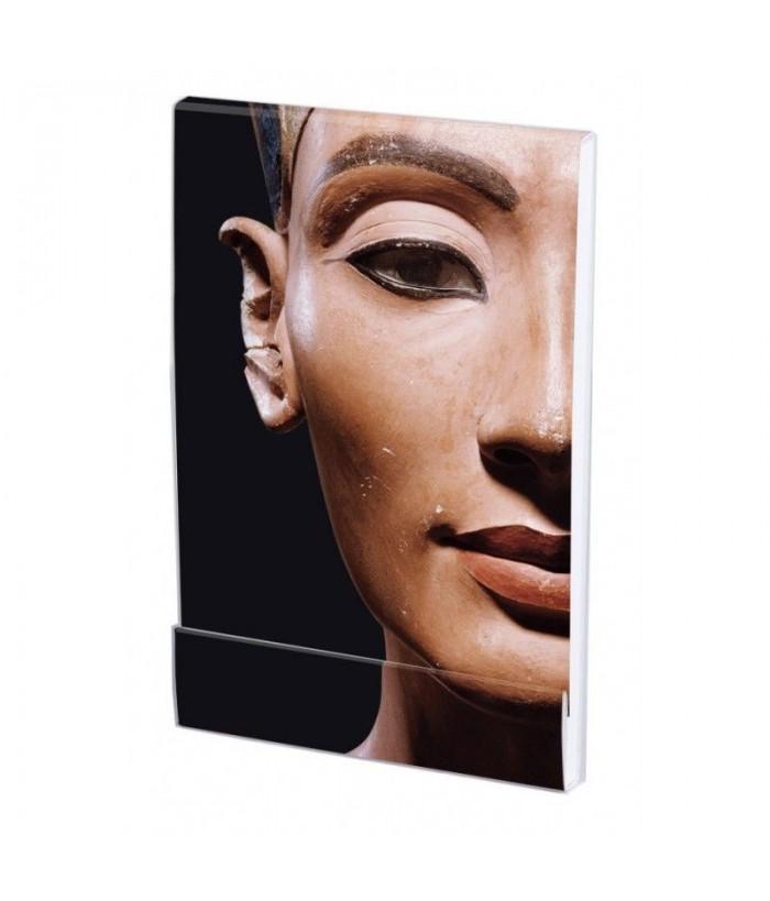 Carnet notite A7 Bust of queen Nefertiti