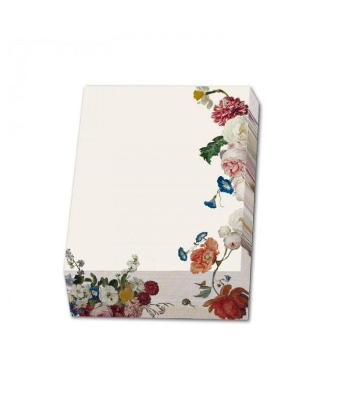 Bloc notite Floral Still Lifes, Collection Rijksmus