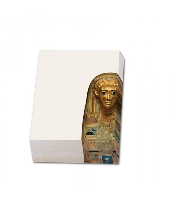 Bloc notite 164 file Mummy mask of a man, SMB