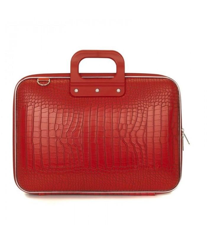 Geanta lux business laptop 15 in Cocco-Rosu aprins