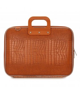 Geanta lux business laptop 15 in Cocco-Portocaliu