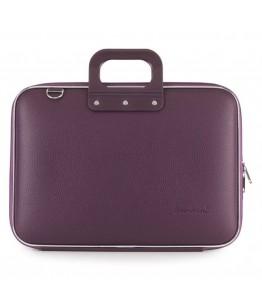 Geanta lux business laptop 15 in Clasic vinil Bombata-Visiniu