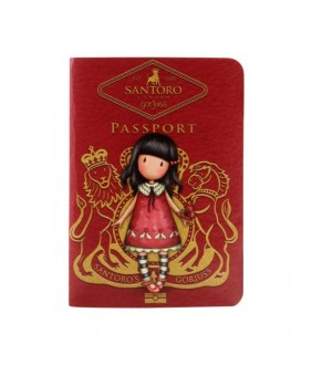 Carnet tip pasaport Gorjuss Time to Fly