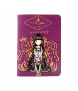 Carnet tip pasaport Gorjuss Rosebud