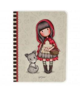 Caiet A6 Gorjuss Little Red Riding Hood