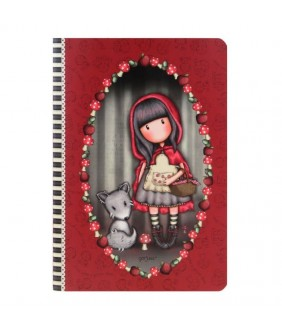 Caiet premium A5 Gorjuss Little Red Riding Hood
