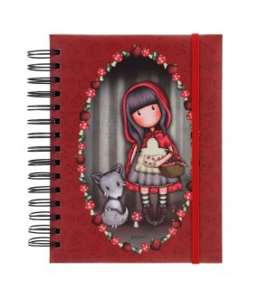 Agenda cu spira Gorjuss Little Red Riding Hood