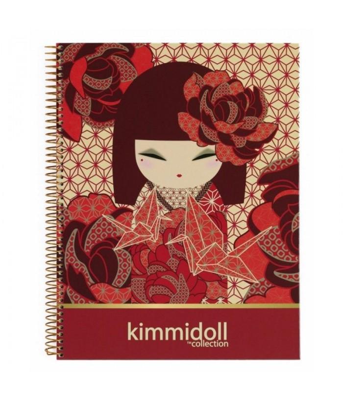 Caiet cu spira A4 - 120 file Kazuna by Kimmidoll