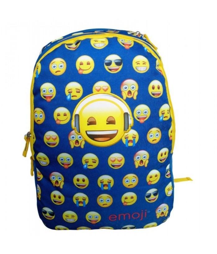 Ghiozdan Emoji bleu