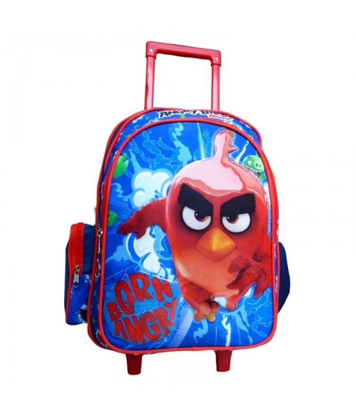 Ghiozdan cu troler Angry Birds 33 cm