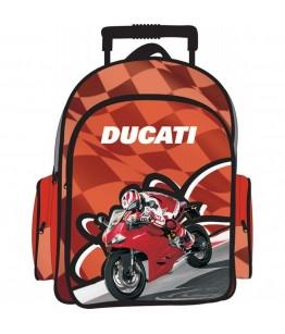 Ghiozdan cu troler Ducati oval