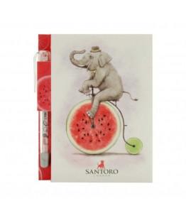 Fruity Scooty Carnetel de buzunar Elefant