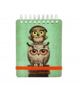 Carnet de buzunar Book Owls