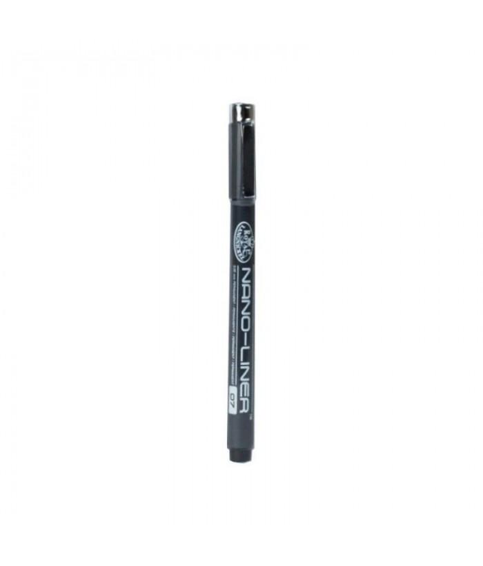 Creion cu cerneala Nano-Liner Negru - 07