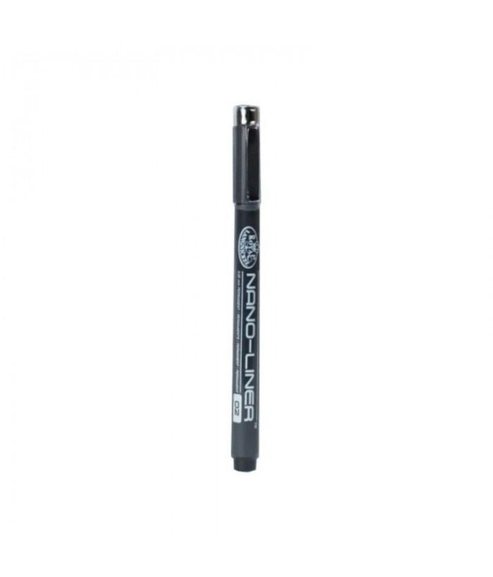 Creion cu cerneala Nano-Liner Negru - 02
