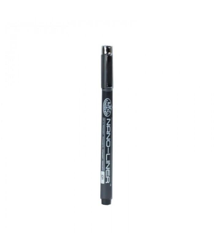 Creion cu cerneala Nano-Liner Negru - 01