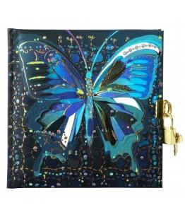 Jurnal lacatel Goldbuch Flower Butterfly 17x17 cm
