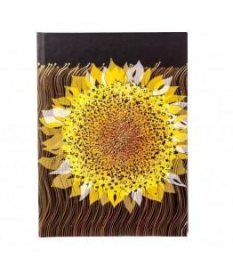Agenda Goldbuch A5 cu efect special Floarea soarelui